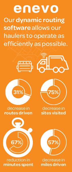 回収車両が効率的に稼働した結果、回収ルート 31%削減、訪問箇所 75%削減、回収に要した時間 67%削減、走行距離 57%削減